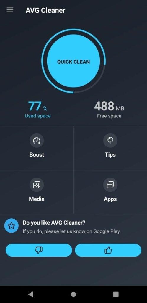 AVG Cleaner premium unlocked