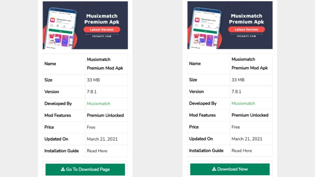 Musixmatch Premium Mod Apk
