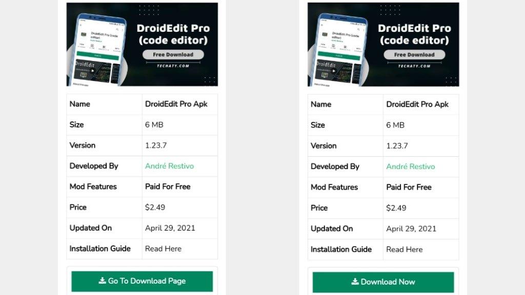 DroidEdit Pro DOwnload