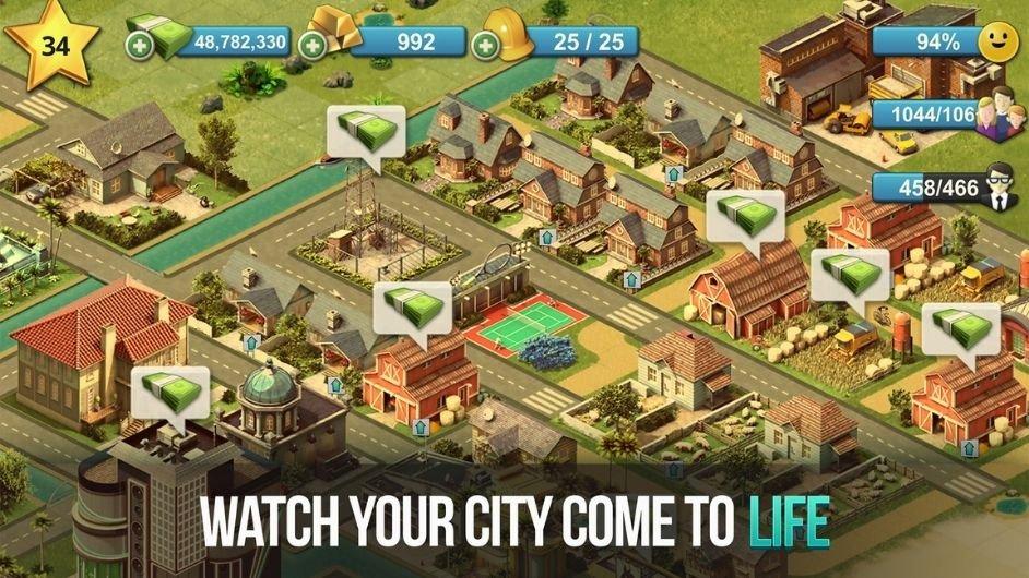 City Island 4 - Simulation Town mod