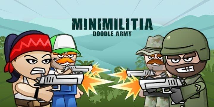 Mini Militia Mod Apk 5.3.7 (Pro Unlocked)