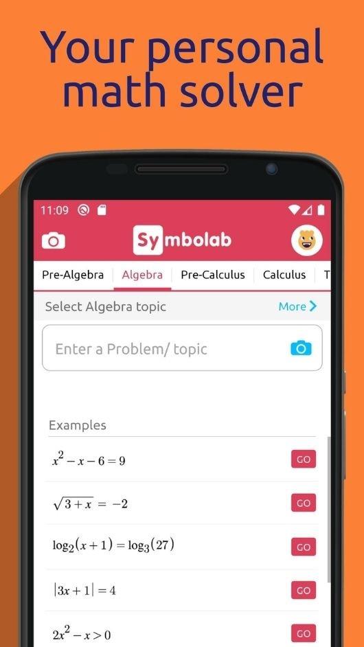 Symbolab - Math solver 3