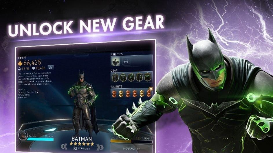 unlocked new gear