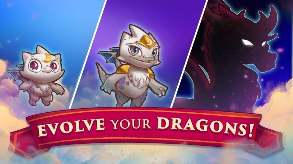 Merge Dragons evolve dragons