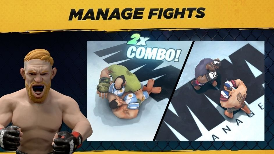 MMA Manager fight