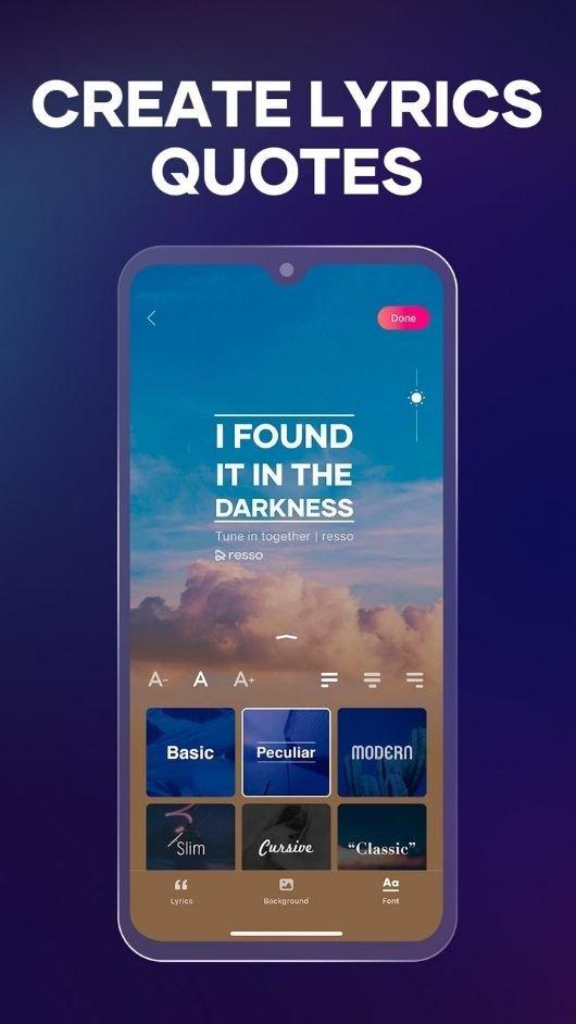 Resso premium apk download