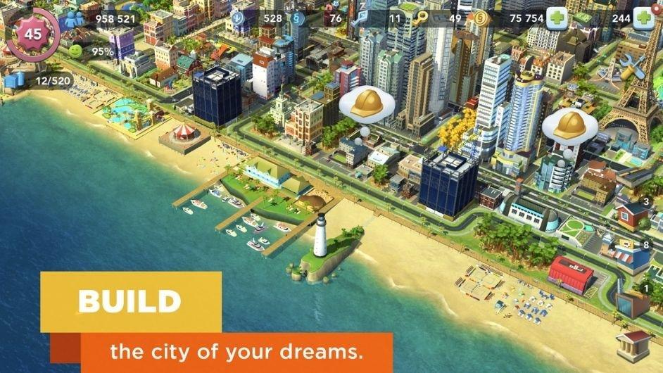 Simcity Buildit mod unlocked