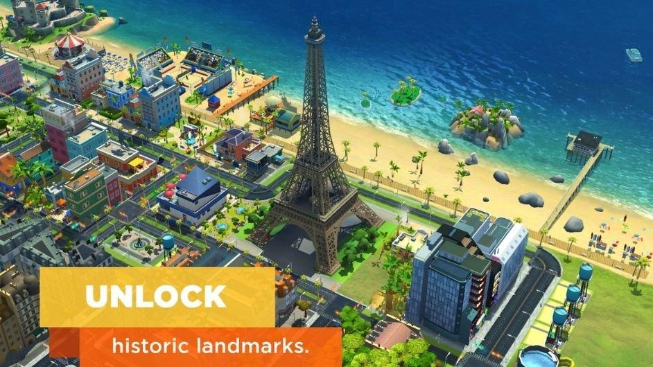 Simcity Buildit unlocked